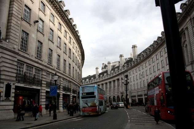 Места посещения в Лондоне