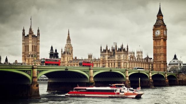 Речной круиз по Темзе в Лондоне