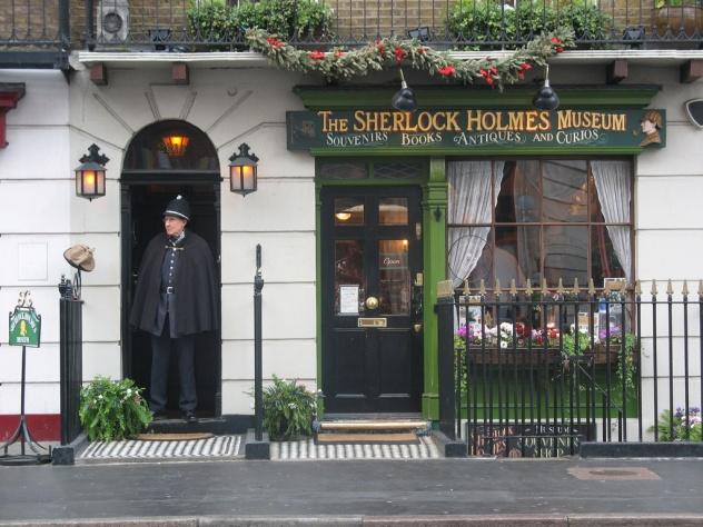 Достопримечательности Лондона. Музей Шерлока Холмса